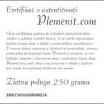 Certifikat o autentičnosti